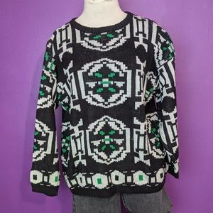 2/$30 abstract sweater